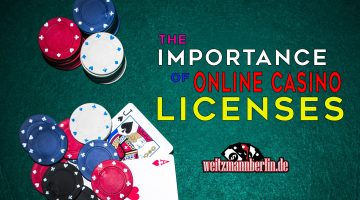 the importance of online casino licenses